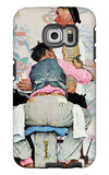 """Tattoo Artist"", March 4,1944 Galaxy S6 Edge Case by Norman Rockwell"