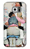 """Tattoo Artist"", March 4,1944 Galaxy S6 Case by Norman Rockwell"