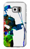 Leonard Watercolor Galaxy S6 Case by Lora Feldman