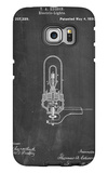 Thomas Edison Light Bulb Patent Galaxy S6 Edge Case