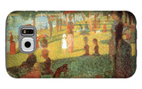A Sunday on La Grande Jatte Galaxy S6 Case by Georges Seurat