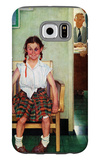 """Shiner"" or ""Outside the Principal's Office"", May 23,1953 Galaxy S6 Case by Norman Rockwell"