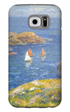 Calm Seas Galaxy S6 Case by Henry Moret