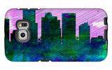 Phoenix City Skyline Galaxy S6 Edge Case by  NaxArt