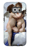 First Kiss Galaxy S6 Edge Case by William Adolphe Bouguereau