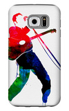 Elvis Watercolor Galaxy S6 Case by Lora Feldman