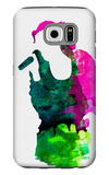 Gwen Watercolor Galaxy S6 Case by Lora Feldman