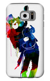 Slash Watercolor Galaxy S6 Case by Lora Feldman