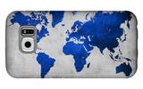World  Map 10 Galaxy S6 Case by  NaxArt