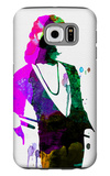 Freddie Watercolor Galaxy S6 Case by Lora Feldman