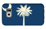 South Carolina State Flag Galaxy S6 Case by  Lantern Press