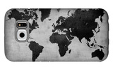World  Map 8 Galaxy S6 Case by  NaxArt