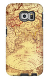 Vintage Map Eastern Galaxy S6 Edge Case by Malcolm Watson