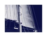 Schooner Sails I Giclee Print by Charlie Carter