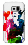 Santana Watercolor Galaxy S6 Case by Lora Feldman