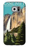Yosemite Falls - Yosemite National Park, California Galaxy S6 Case by  Lantern Press
