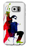 Bono Watercolor Galaxy S6 Case by Lora Feldman