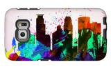 Minneapolis City Skyline Galaxy S6 Edge Case by  NaxArt