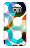 Rainbow Circles Galaxy S6 Edge Case by  VolsKinvols