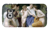 Admiration Galaxy S6 Edge Case by William Adolphe Bouguereau
