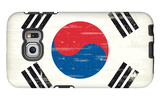 South Korea Grunge Flag. A Flag South Korea With A Texture Galaxy S6 Edge Case by  TINTIN75