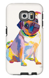 Pug Sketch Galaxy S6 Edge Case by Patti Mollica
