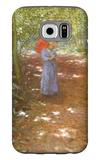 Walking in the Park Galaxy S6 Case by Antonin Slavicek