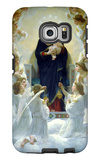 The Virgin with Angels Galaxy S6 Edge Case by William Adolphe Bouguereau