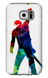 Bruce Watercolor Galaxy S6 Case by Lora Feldman