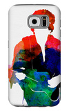 Jimi Watercolor Galaxy S6 Case by Lora Feldman
