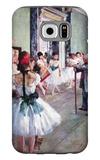 The Dance Class Galaxy S6 Case by Edgar Degas