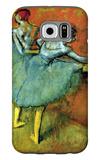 Dancers at the Bar Galaxy S6 Case by Edgar Degas