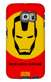 Iron Poster 1 Galaxy S6 Edge Case by Anna Malkin