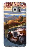 Shenandoah National Park, Virginia - Skyline Drive Galaxy S6 Case by  Lantern Press
