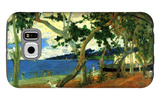 By the Seashore, Martinique Galaxy S6 Case by Paul Gauguin