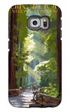 Muir Woods National Monument, California - Pathway Galaxy S6 Edge Case by  Lantern Press