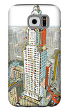 Manhattan Galaxy S6 Case by  HR-FM