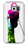 Mick Watercolor Galaxy S6 Case by Lora Feldman