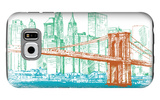 City Print Project Galaxy S6 Case