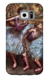 Four Dancers Behind the Scenes Galaxy S6 Case by Edgar Degas