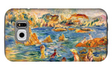 At the Beach of Guernesey Galaxy S6 Case by Alfred Sisley