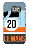 Le Mans Poster 2 Galaxy S6 Edge Case by Anna Malkin