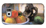 Still Life with Apples, Pears and Krag Galaxy S6 Case by Paul Gauguin