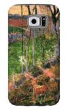 Small Breton Wooden Shoe Galaxy S6 Case by Paul Gauguin