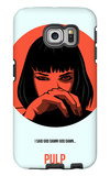 Pulp Poster 2 Galaxy S6 Edge Case by Anna Malkin