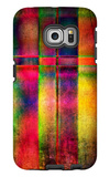 Art Abstract Colorful Background Galaxy S6 Edge Case by Irina QQQ