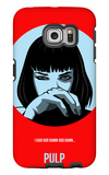 Pulp Poster 1 Galaxy S6 Edge Case by Anna Malkin