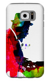 Thelonious Watercolor Galaxy S6 Case by Lora Feldman