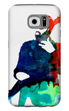 Lenny Watercolor Galaxy S6 Case by Lora Feldman