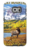 Maroon Bells - Rocky Mountain National Park Galaxy S6 Edge Case by  Lantern Press